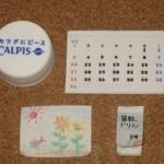 ドールハウスのカレンダー&ドリル