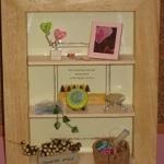 ドールハウス100均商品を使ったお洒落なインテリア棚飾りの作り方2