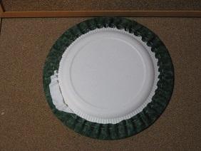 紙皿ツリー2