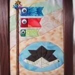布で作るこいのぼり 木目込み風の作り方