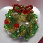 クリスマス飾りは手作りで ダイソービーズキットでお手軽に!