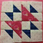 パッチワークパターン三角形「オールドミスのパズル」の縫い方