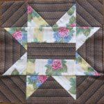 パッチワークパターン エイトポイントスターの縫い方