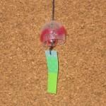ドールハウスの簡単風鈴の作り方