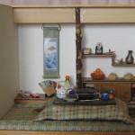 ドールハウスの日本の和室の作り方(節分編)
