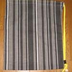 100均商品のてぬぐいを使った簡単!巾着リュックの作り方