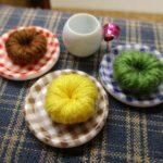 ドールハウス 100均商品で作る簡単ミニチュアドーナツの作り方